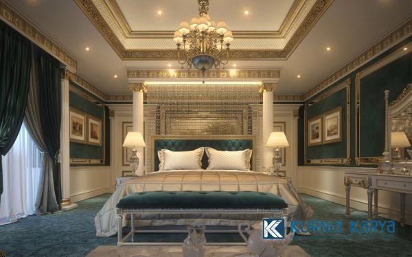 Jual Set Kamar Desain Modern Royal Luxury KS-04, Kurnia Karya