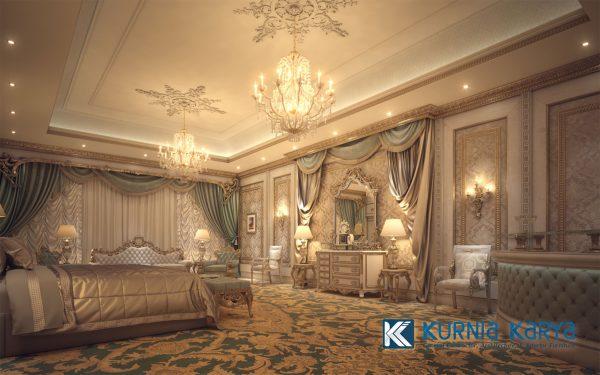 Desain Interior Kamar Tidur Mewah Ala Sultan KS-01, Kurnia Karya
